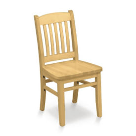 Traditionally Styled Wood Chair, K00014