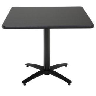 """36"""" Square Cafe Pedestal Table, K00018"""