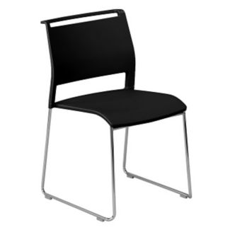 All-Purpose Stack Chair with Poly Back and Seat, C60200