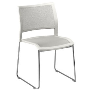 All-Purpose Stack Chair with Mesh Back and Seat, C60201