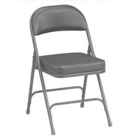 "2"" Seat Vinyl Folding Chair, C50156"