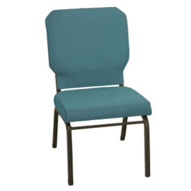 Armless Fabric Stack Chair, C60196
