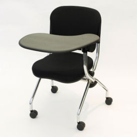 Fabric Nesting Chair with Left Tablet Arm, C70355