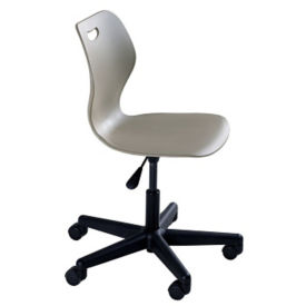Adjustable Height Mobile Student Task Chair for 5th to Adult Users, C70482