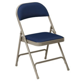 Double Hinged Fabric Folding Chair, D51135