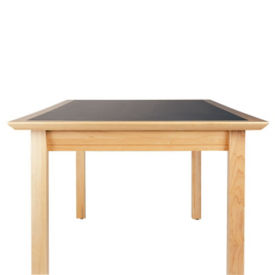 "Rectangle Table 30"" x 60"" with Maple Finish, T11351"