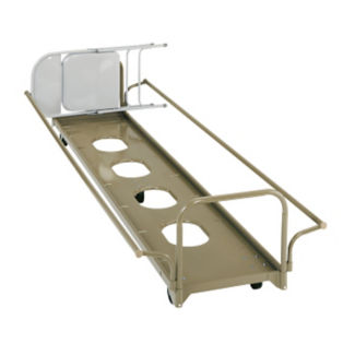 Under Stage Chair Caddy with Adjustable Handle, V21879