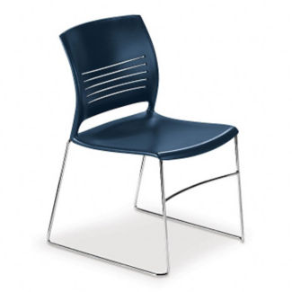 Curved Back Stack Chair, C67737
