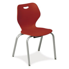 "4 Leg Stack Chair 18""H, C70292"