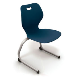 "Cantilever Stack Chair 18""H, C70295"