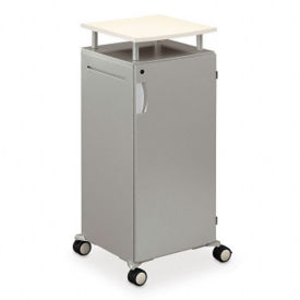 Mobile Lectern with Storage Unit, M13063