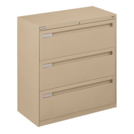 "Three Drawer Lateral File - 36""W, L40720"