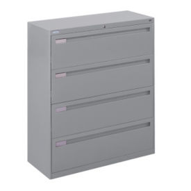 "Four Drawer Lateral File - 42""W, L40725"