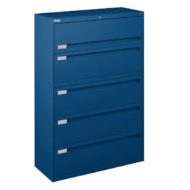 "Five Drawer Lateral File - 42""W, L40726"