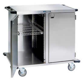 "2 Compartment Steel Cart 43""W, B34455"