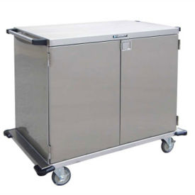 "One Compartment Steel Cart 43""W, B34456"
