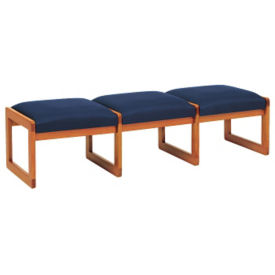 Fabric 3 Seat Bench, W60277