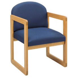 Fabric Round Back Guest Chair, W60270