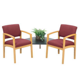 Fabric 2 Chairs with Corner Table, W60292