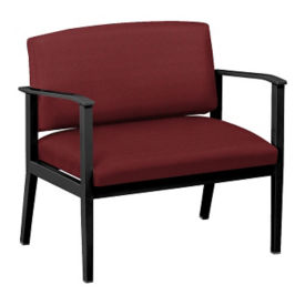 Fabric Bariatric Guest Chair with Arms, W60832
