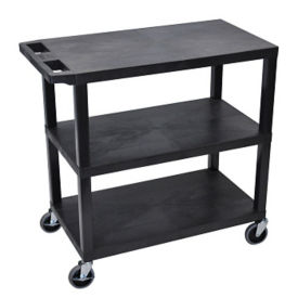 Three Shelf Utility Cart, B34694
