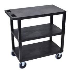 Three Shelf Heavy Duty Utility Cart, B34696