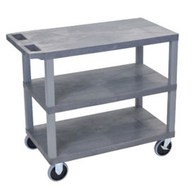 Three Shelf Heavy Duty Utility Cart, B34697