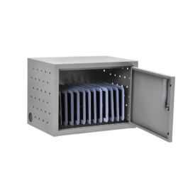 Lockable Wall or Desk Charger for 12 Tablets , E10019