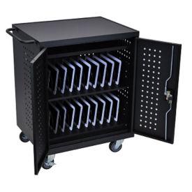 Lockable 42 Tablet Charging Cart, M10028