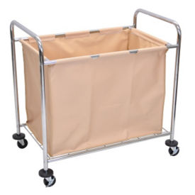Steel Frame Laundry Cart, V21434