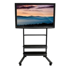 Universal Mobile Flat Panel Monitor Cart, M16354