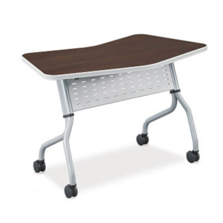 "Transition Nesting Flip Top Table - 48"", T11568"