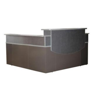 L Reception Desk, W60543