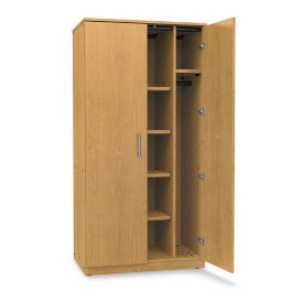 "Combo Wardrobe Storage Cabinet - 36""W x 24""D, B30633"