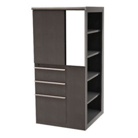 "Right Bookcase Storage Tower - 52"" H, B30272"