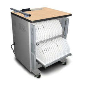 iPad Sync and Charge Cart - Holds 32 iPads or iPad Minis™, M16361