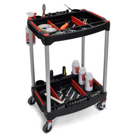 "Two Shelf Mechanics Cart - 22.75""W, V22104"