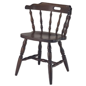 Solid Wood Captains Chair, K00076