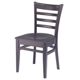 Ladder Back Wood Chair, K00082