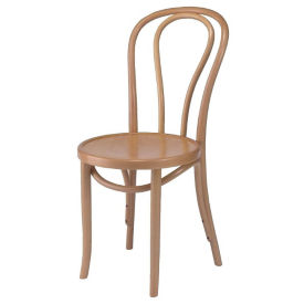 Bentwood Hairpin Chair with Veneer Seat, K00089