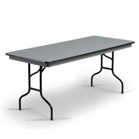 "Hexalite Folding Seminar Table 30""W x 72""D, D41429"