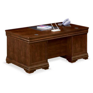 "Traditional Executive Desk - 36""D x72"" W, D30137"