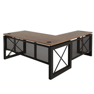 """Reversible L-Desk - 72""""W x 80""""D, D30399"""