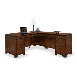 "Kensington L-Desk with Right Return - 68""W, D30048"