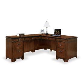 """Kensington L-Desk with Left Return - 68""""W, D30049"""
