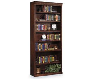 "84"" Seven Shelf Burnish Bookcase, B30388"