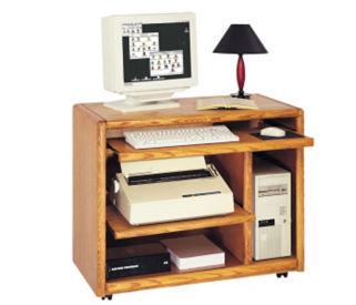 Mobile Compact Computer Desk, E10240