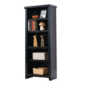 "Five Shelf Open bookcase - 61"" H, B32095"