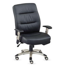 Faux Leather Heated Task Chair, C80509