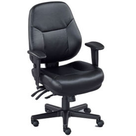 Everlast Polyurethane Multi-Shift Chair, C80469